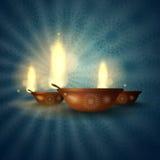 Szczęśliwy Diwali festiwal. Obrazy Royalty Free