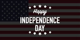 Szczęśliwy dnia niepodległości czwarty Lipa wektor ilustracja wektor