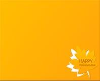 Szczęśliwy dziękczynienia dzień tło Zdjęcie Stock