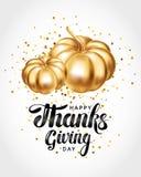 Szczęśliwy dziękczynienie dnia kartka z pozdrowieniami Zdjęcie Royalty Free