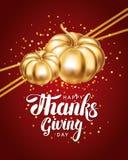 Szczęśliwy dziękczynienie dnia kartka z pozdrowieniami ilustracja wektor