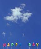 szczęśliwy dzień Obrazy Stock
