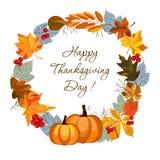 szczęśliwy dzień dziękczynienie ilustracja wektor