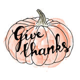szczęśliwy dzień dziękczynienie karcianych dzień powitania irysów macierzysty s wektor handwriting Obrazy Royalty Free