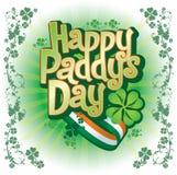 szczęśliwy dzień irlandczyk s Zdjęcie Royalty Free