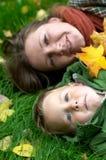 szczęśliwy dzień jesienny Obraz Royalty Free