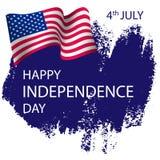 Szczęśliwy dzień niepodległości, Lipiec 4th ilustracji