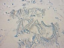 Szczęśliwy dzień przy plażą Zdjęcie Stock