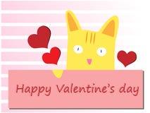 szczęśliwy dzień valentine Obraz Royalty Free