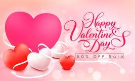 szczęśliwy dzień valentine s royalty ilustracja