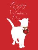 szczęśliwy dzień valentine s Obrazy Royalty Free