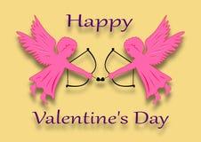 szczęśliwy dzień valentine s Obraz Royalty Free
