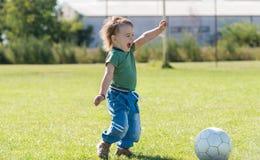 Szczęśliwy dzieciństwo Fotografia Stock