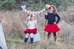 Szczęśliwy dzieci bawić się Obraz Royalty Free