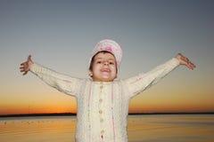 szczęśliwy dzieciak Fotografia Royalty Free