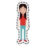 szczęśliwy dzieciaka lub dziecka ikony wizerunek Zdjęcia Royalty Free