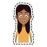 szczęśliwy dzieciaka lub dziecka ikony wizerunek Zdjęcie Stock