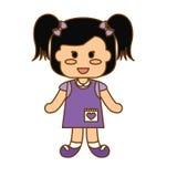 Szczęśliwy dziecko ikony wizerunek Fotografia Royalty Free