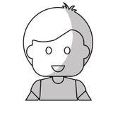 Szczęśliwy dziecko ikony wizerunek Obrazy Royalty Free