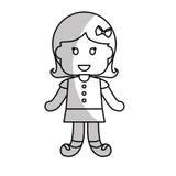 Szczęśliwy dziecko ikony wizerunek Zdjęcia Stock