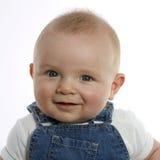 Szczęśliwy dziecko 6 miesięcy starych Obraz Royalty Free