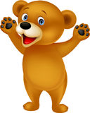Szczęśliwy dziecko niedźwiedź Obrazy Royalty Free