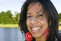 szczęśliwy dziewczyna portret Zdjęcia Stock