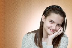 szczęśliwy dziewczyny nastolatków Obrazy Royalty Free