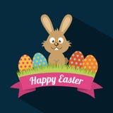 Szczęśliwy Easter Zdjęcia Royalty Free