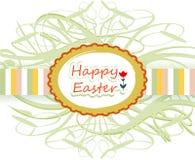 Szczęśliwy Easter faborek Zdjęcie Royalty Free
