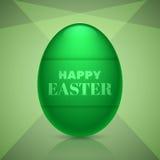 Szczęśliwy Easter jajka projekt Fotografia Royalty Free