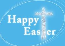 szczęśliwy Easter karciany powitanie Fotografia Royalty Free