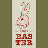 Szczęśliwy Easter kartka z pozdrowieniami Obraz Stock
