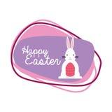Szczęśliwy Easter projekt Fotografia Stock