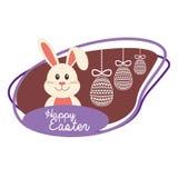Szczęśliwy Easter projekt Zdjęcia Stock