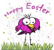 Szczęśliwy Easter ptak Ilustracji