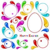 szczęśliwy Easter wzór Obrazy Royalty Free