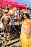 Szczęśliwy filiżanka zwycięzcy załoga Folkestone festiwal Anglia Obrazy Stock