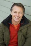 szczęśliwy forties mężczyzna Zdjęcia Royalty Free