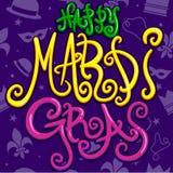 szczęśliwy gras mardi Fotografia Stock
