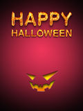 Szczęśliwy Halloween Obraz Royalty Free