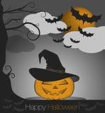 Szczęśliwy Halloween royalty ilustracja