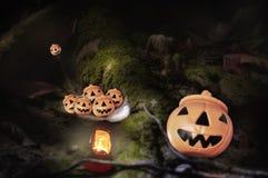 Szczęśliwy Halloween pojęcie Obraz Stock