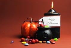 Szczęśliwy Halloweenowy Trikowy lub funda Zdjęcia Stock
