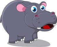 Szczęśliwy hipopotam Obraz Stock