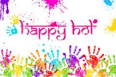Szczęśliwy Holi royalty ilustracja
