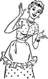 Szczęśliwy Homemaker ilustracji