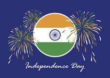 Szczęśliwy India dnia niepodległości wektor Obraz Stock