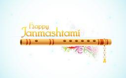 Szczęśliwy Janmasthami Zdjęcia Royalty Free