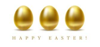 szczęśliwy karciany Easter ilustracja wektor